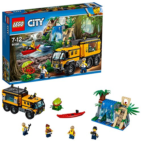 LEGO City City Jungle Explorer - Jungla: Laboratorio Móvil -60160