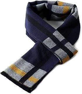 "FRIDIROU Super Soft Winter Cashmere & Wool Blend Scarf for Men 70""x12"""
