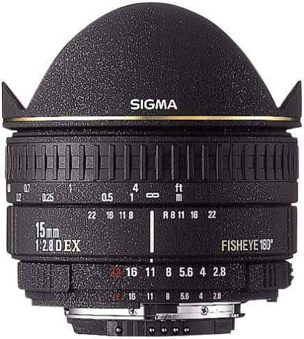 Sigma 15mm F2.8 EX Diagonal Max 88% OFF Fisheye Konica Minolta SLR Lens for Max 64% OFF