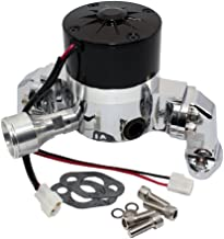 Assault Racing Products 6035000 Small Block Chevy Chrome Aluminum Electric Water Pump HV SBC 327 350