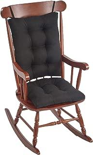 The Gripper Non-Slip Omega Jumbo Rocking Chair Cushions, Midnight