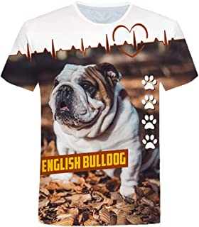 DXSPNSBX T Shirts Novelty English Printing