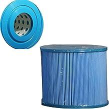 Lin Cartucho de Filtro para Piscina Azul, Lavable Adecuado para Varias Bombas de Filtro,18cm
