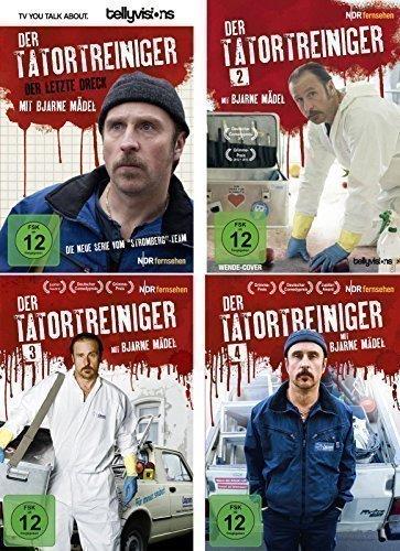 Der Tatortreiniger Staffel 1-4 im Set - Deutsche Originalware [4 DVDs]
