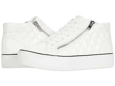 Steve Madden Gryphon-Q Sneaker (White) Women
