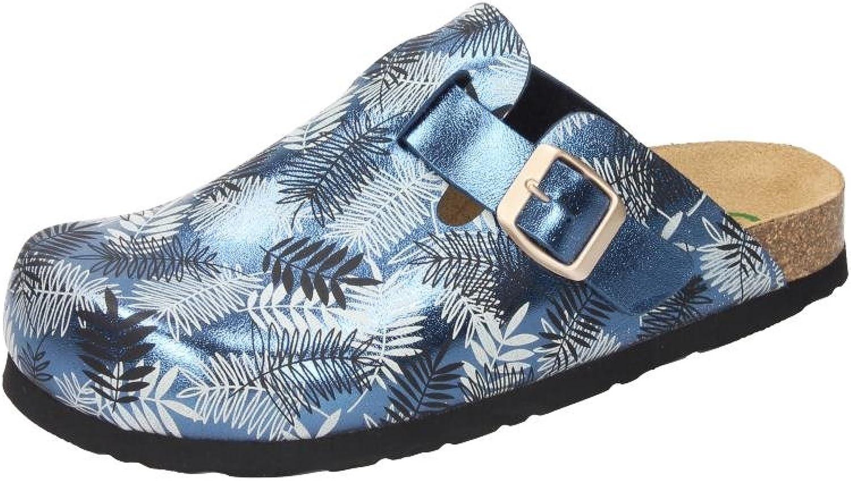 Dr. Brinkmann Herren-Pantolette blue 600411-5