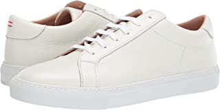 Men's Leather Lace-Up Sneaker