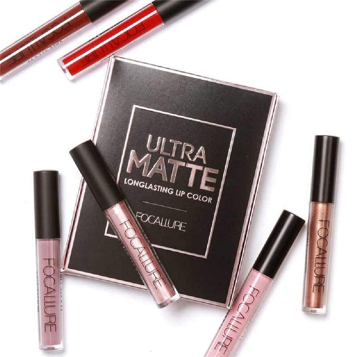 インフレーション残り八3Pcs/Set Long-lasting Lip Colors Makeup Waterproof Tint Lip Gloss Red Velvet Ultra Nude Matte Lipstick Set リップカラーメーキャップ防水色合いリップグロスレッドベルベットウルトラヌードマットリップスティックセット (02)