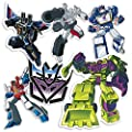 Popfunk Transformers Decepticons Collectible Sticker Set