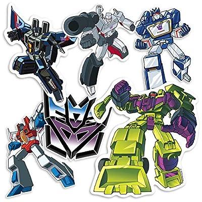 Popfunk Transformers Decepticons Collectible Sticker Set