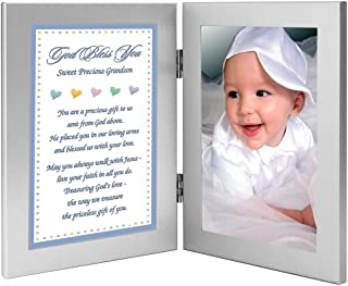 New Baby Boy Grandson Gift or Baptism or Christmas Add Photo