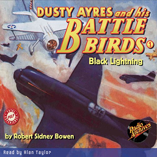 Dusty Ayres and His Battle Birds #1 audiobook cover art