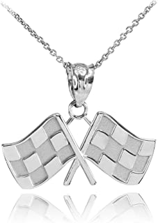 Box or Curb Chain Necklace Rembrandt Charms Sterling Silver Large Round Rope Disc Charm on a 16 18 or 20 inch Rope