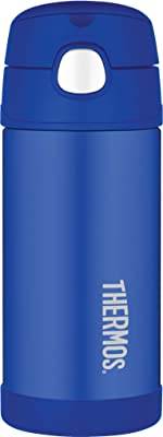 Thermos FUNtainer Vacuum Insulated Drink Bottle, 355ml, Blue, F4013BL6AUS