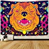 ftmxy インド色ハピかわいい動物プリントパターンタペストリー壁掛け部屋の装飾テーブルクロス壁布ビーチタオルピクニックタオル-230X170CM