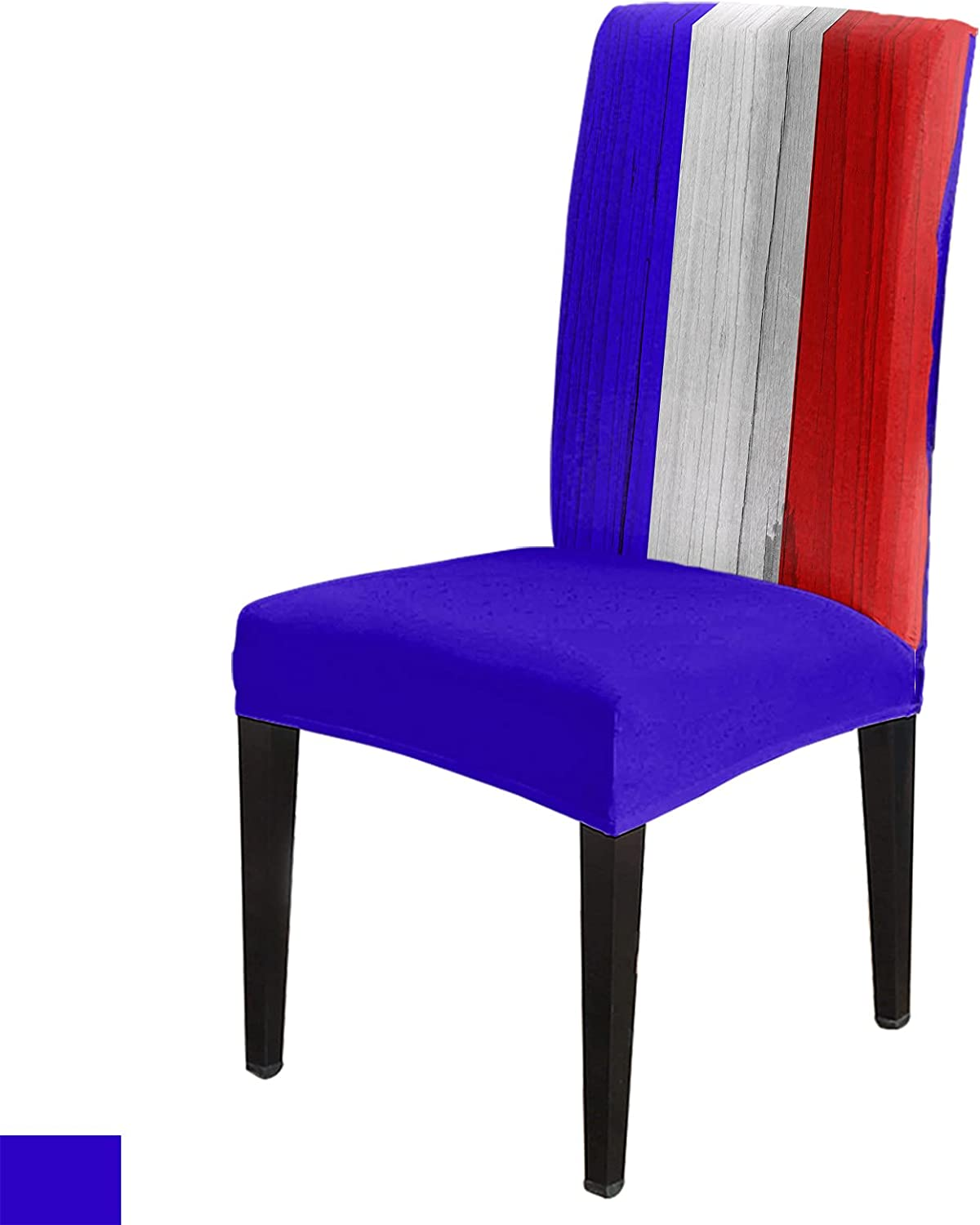 8 Per Set French National Ranking TOP9 Day Red White Blue Cover Chair Stripes Limited time trial price