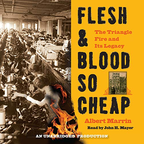 Flesh and Blood So Cheap audiobook cover art