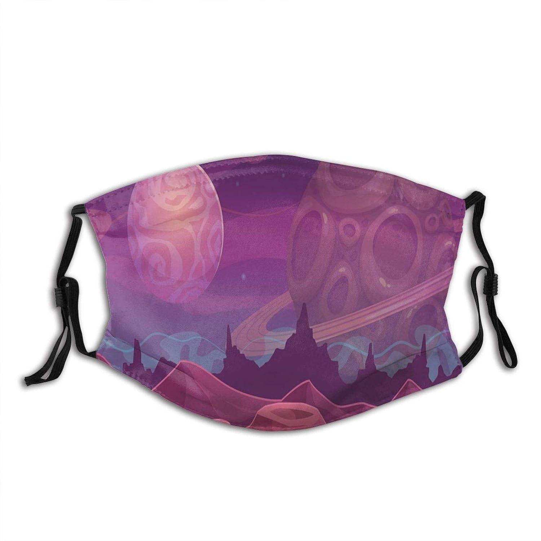 Comfortable Super special price Windproof mask,Purple Alien 100% quality warranty! Lands Dreamy Fantastic