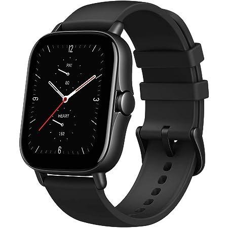 Amazfit GTS 2e Smartwatch Orologio Intelligente, 90 Modalità di Allenamento, 5 ATM Impermeabile, Durata della batteria di 14 giorni, Monitor del Sonno, Uomo, Donna