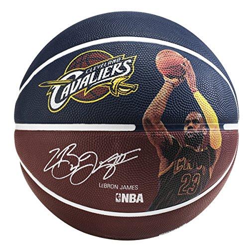 Spalding NBA, Pallone da Basket, 83349, Maroon/Blue