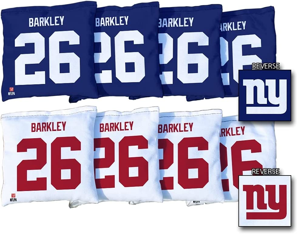 Victory Tailgate Saquon half quality assurance Barkley New York Giants Regulati 8-Piece