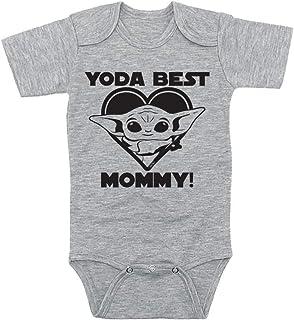 TeeNow - CUSTOM Yoda Best 'Relative's Name' - Customizable Star Wars Inspired Baby Infant Bodysuit - Boy/Girl