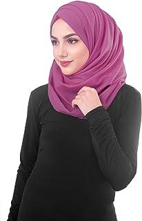 وشاح حريمي جديد من القطن الفوال من Inessence ، خيارات ألوان متعددة، ماكسي كبير الحجم وحجاب عادي