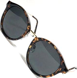 [Berkut] 【モデルチェンジ】伊達メガネ サングラス クロブチ 色付き 丸型 軽量 疲れにくい 目にやさしいレンズ 1040101
