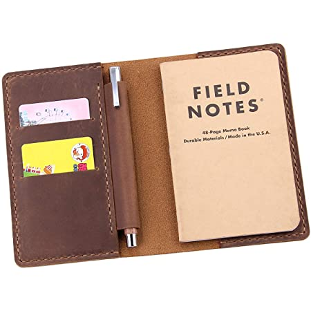 Leather Notebook Cover  Leather Moleskin  Field Notes  Field Notes Cover  Pen Holder  Wedding Gift  Wedding Gift  Mother/'s Day
