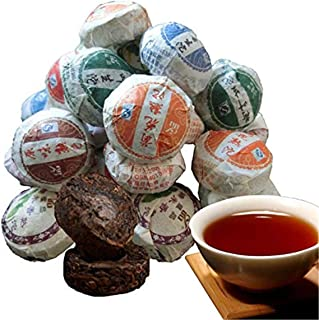 10 pcs Puer Tea China Top-Grade Raw and Cooked Puerh Tuocha Mini Tea Pu'er tea 60g (0.13LB) プーアル茶りょくちゃ緑茶こうちゃ紅茶中国茶飲料茶葉お茶Gre...