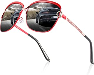 Polarized Sunglasses Women UV Protection Fashion Sunglasses for Shopping Driving Running Cycling Fishing Golf Unbreakable ...