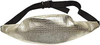 Wultia - Bags for Women 2019 Women Fashion Crocodile Pattern Leather Messenger Shoulder Bag Chest Bag Bolsa Feminina Gold