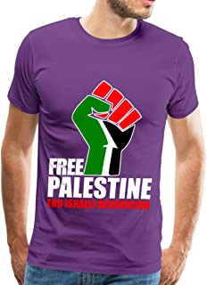 Free Palestine End Israeli Occupation Men's Premium T-Shirt