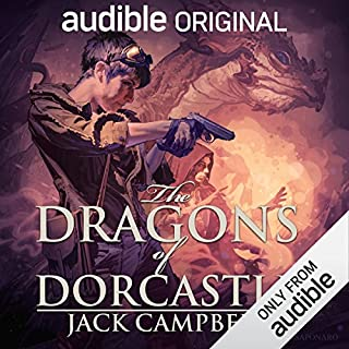 The Dragons of Dorcastle audiobook cover art