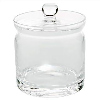 ガラス 蓋付 ポット S クリアー 46T043