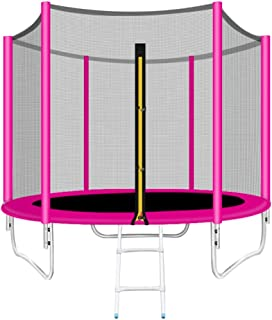 Trampoline Bounce Bed Fitness Adult Gym Home Children Indoor And Outdoor Jumping Trampoline With Protective Nets Bungee Be...