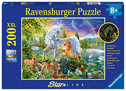 Ravensburger Kinderpuzzle 13673 - Magische Begegnung - 200 Teile