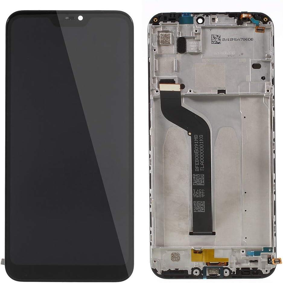 MOVILSTORE Pantalla Completa LCD + Tactil + Marco Compatible con Xiaomi MI A2 Lite/Redmi 6 Pro Negro