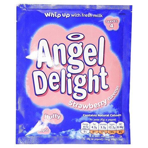 Angel Delight Strawberry 59g - Dessert-Mix mit Erdbeer Flavour