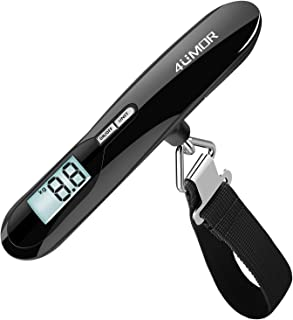 Portable Digital Suitcase Hanging Scales Weighing Scale with Backlit Display for Travel//Outdoor//Home Use Color : Black SKATEGY Electronic Luggage Scale 88 lb// 40 KG Capacity