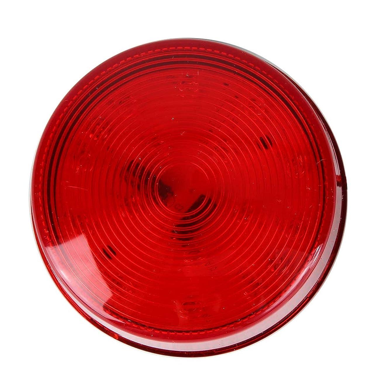 遅れ物理的な雷雨耐久性のあるABS素材LED警告灯、緊急用ストロボライト、ノイズなし暖房の問題なし90回/分セントリーボックスの点滅頻度(24V LED flashing light)
