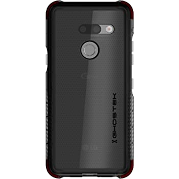 Ghostek Covert Designed for LG G8 ThinQ Case Clear Bumper Phone Cover Slim Fit Skin Ultra Thin Silicone Wireless Charging Compatible Tough Shockproof Heavy Duty Protection & Anti-Slip Grip - (Smoke)