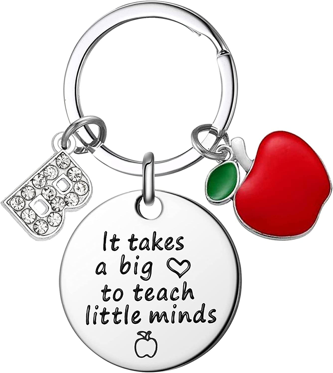 Teacher Gifts for Now on sale Women - It a Keychain Takes Big Gorgeous Heart
