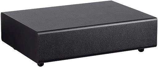 Monoprice 133829 Ssw-8 Powered Slim 8 Inch Subwoofer - Black   100 Watt, Low Profile, Powerful Amp, Low Pass, 8 Inch