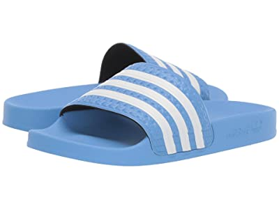 adidas Adilette (Real Blue/Footwear White/Real Blue) Men