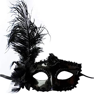 Masquerade Mask Women Black Lace Eye Face Mask Masquerade Party Ball Costume Party Masks Drop Ship