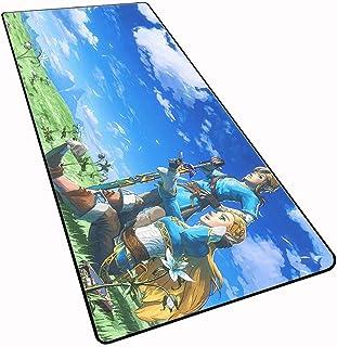 PC y Port/átil 800 x 300 x 4.0 mm Ordenador Extended XL Alfombrilla Gaming de Microfibras con Luces Base de Goma Antideslizante para Gamers Alfombrilla Rat/ón RGB Extra Grande