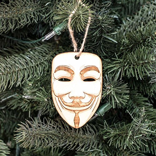 Ornament - Anonymous - Raw Wood 2x4in