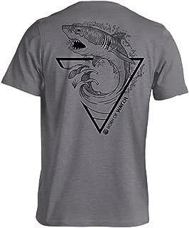 Great White Shark T-Shirt: Mens CVC Blend: Scuba Diving