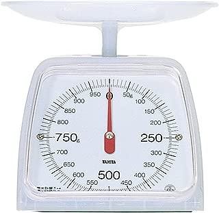 タニタ はかり スケール 料理 1kg 5g ホワイト KA-001 CW
